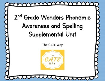 "2nd Grade ""Wonders"" Phonemic Awareness and Phonics Companion Guide: Unit 1"