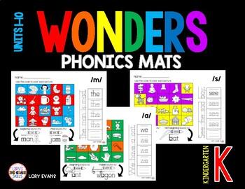 Wonders Phonics Mat for Kindergarten
