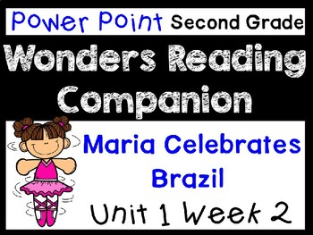 Wonders Power Point Unit 1 Week 2 Maria Celebrates Brazil