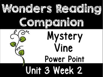 Wonders Power Point Unit 3 Week 2 First Grade. Mystery Vine
