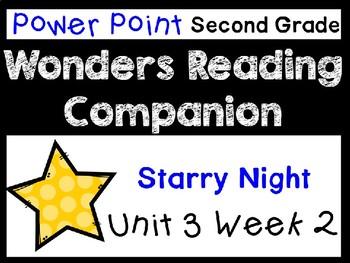 Wonders Power Point Unit 3 Week 2. Second Grade. Starry Night.