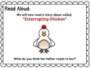Wonders Power Point Unit 3 Week 3 First Grade. Interrupting Chicken