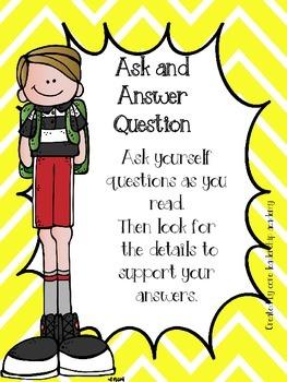 Wonders Priority Skills Anchor Charts Unit 5 Week 5~ 3rd Grade