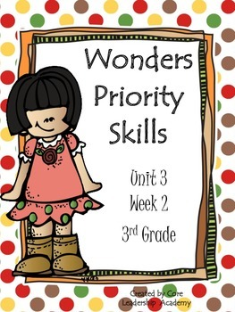 Wonders Priority Skills Unit 3 Week 2