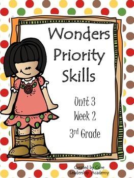 Wonders Priority Skills Unit 3 Week 2