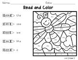Wonders Read & Color By Code--Kindergarten