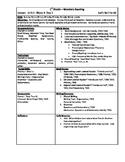 Wonders Reading 1st Grade Unit 1 Week 4 Lesson Plan (2014 edition)