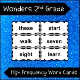 Wonders Reading 2nd Grade High Frequency Word Cards