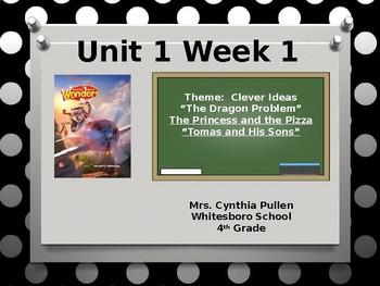 Wonders Reading 4th Grade Unit 1 Week 1 Updated