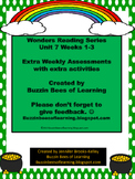 Wonders Reading Kindergarten: Unit 7-Weeks 1 - 3