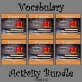Wonders 2020 Third Grade Vocabulary Bundle