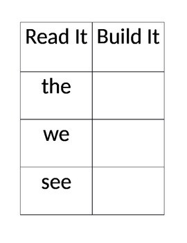 Wonders Reading Center Aide(Read It Build It)