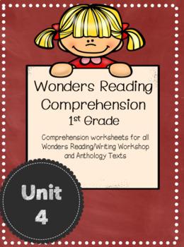 Wonders Reading Comprehension First Grade Unit 4