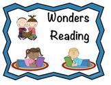 Wonders Reading Concept Board Headers