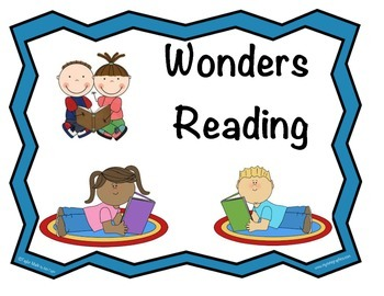 Wonders Reading Concept Board Headers