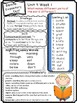 Wonders Reading Differentiated Newsletter / Study Guide Grade 2 Units 4-6