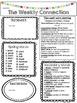 Wonders Reading Editable 3rd Grade Weekly Newsletter Unit 4
