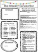 Wonders Reading Editable 3rd Grade Weekly Newsletter Unit 5