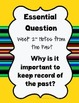 """Wonders Reading """"Essential Question"""" 4th Grade"""
