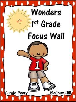 Wonders Reading First Grade Focus Wall