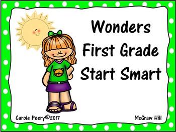 Wonders Reading Start Smart 1st Grade
