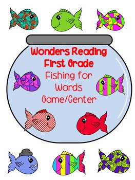 McGraw-Hill Wonders Reading: Fishing for Words First Grade Unit 1 Lessons 1-5