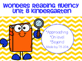 Wonders Reading Fluency Unit 8 Kindergarten