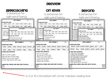 Wonders Reading Fluency Unit 9 Kidnergarten