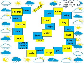 McGraw-Hill Wonders Reading Games Unit Six First Grade