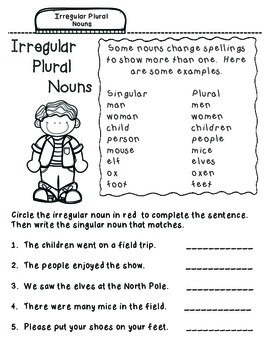Wonders Reading Grade 1:  Nouns and Grammar Notebook Pages, Unit 2