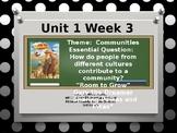 Wonders Reading Grade 3 Unit 1 Week 3