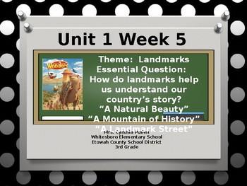 Wonders Reading Grade 3 Unit 1 Week 5