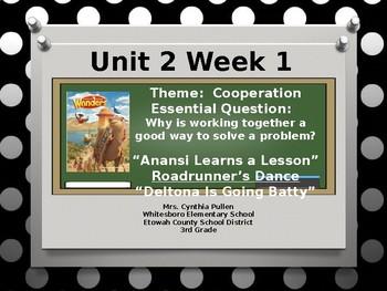 Wonders Reading Grade 3 Unit 2 Week 1