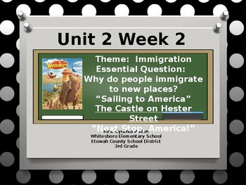 Wonders Reading Grade 3 Unit 2 Week 2