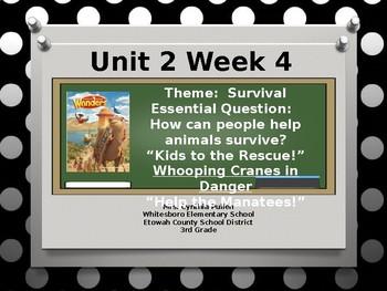 Wonders Reading Grade 3 Unit 2 Week 4