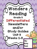 Wonders Reading Grade 3 Unit 3 Differentiated Newsletter /