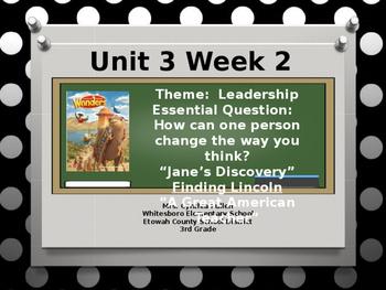 Wonders Reading Grade 3 Unit 3 Week 2