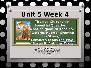 Wonders Reading Grade 3 Unit 5 Week 4