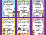 Wonders Reading Grade 3 Units 1-6 Newsletters / Study Guides