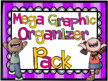 Graphic Organizers MEGA Pack
