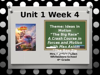 Wonders Reading Grade 4 Unit 1 Week 4