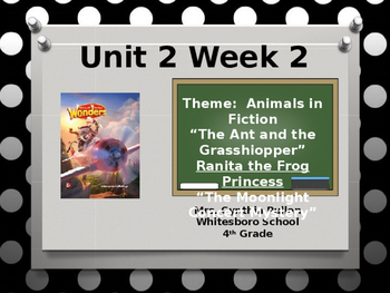 Wonders Reading Grade 4 Unit 2 Week 2