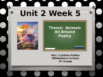 Wonders Reading Grade 4 Unit 2 Week 5