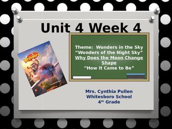 Wonders Reading Grade 4 Unit 4 Week 4
