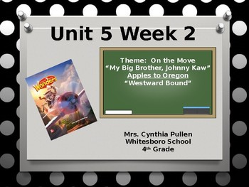 Wonders Reading Grade 4 Unit 5 Week 2