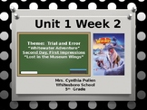 Wonders Reading Grade 5 Unit 1 Week 2