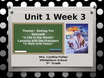 Wonders Reading Grade 5 Unit 1 Week 3
