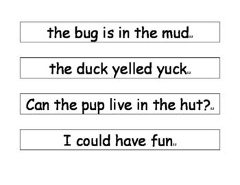 Wonders Reading Rainbow sentences unit 2 week 2