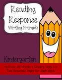 Wonders Reading Response Writing Prompts