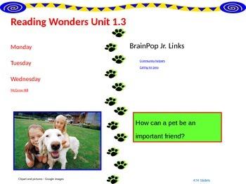 Wonders Reading Second Grade Power Point Unit 1.3